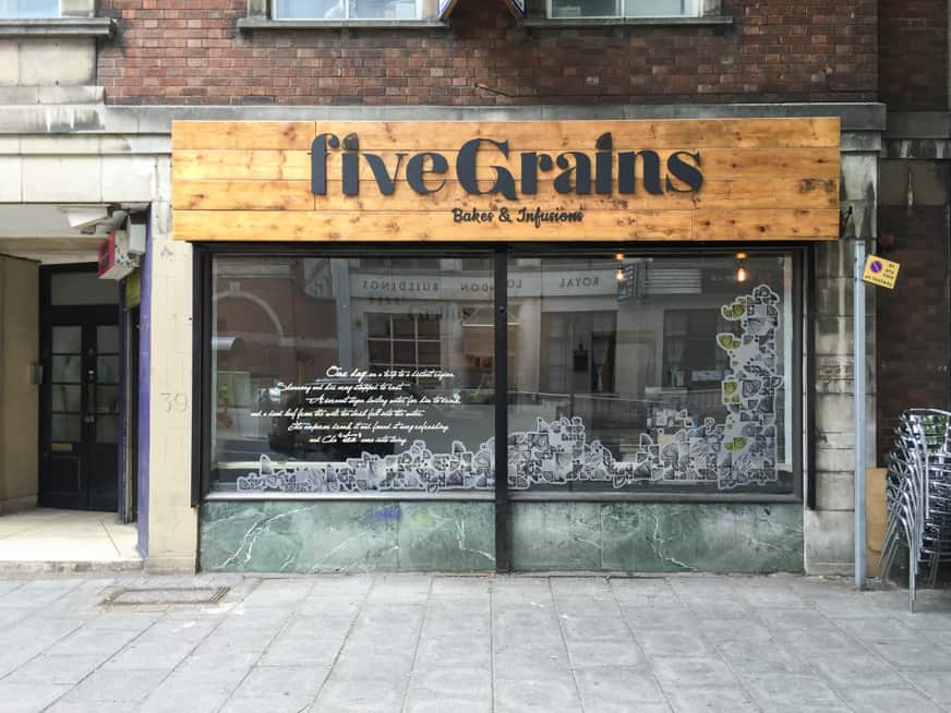 Cafe Sign and Shop Front