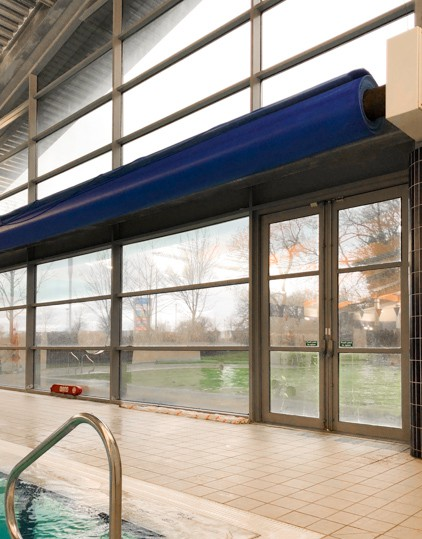 Contra Vision delivers a clear view out and privacy  for those inside.