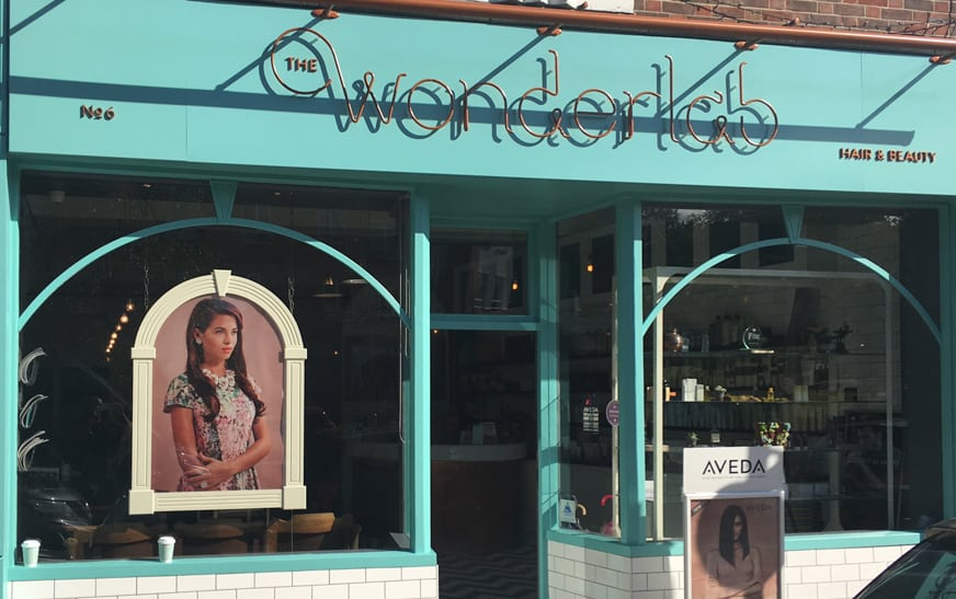 Shopfront Sign full width