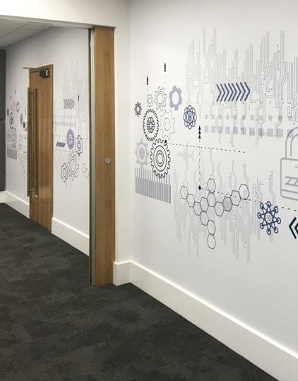 Wallpaper Mural Corridor View