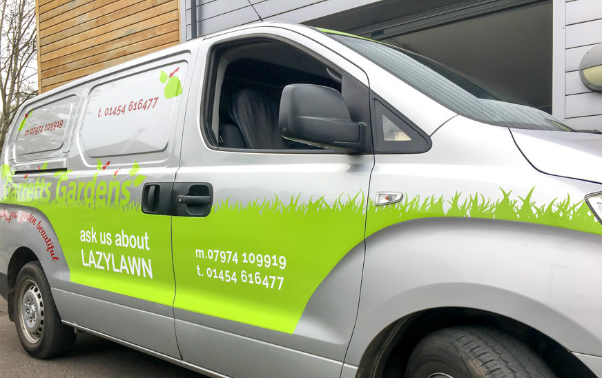 Vehicle Graphics for Garretts Gardens