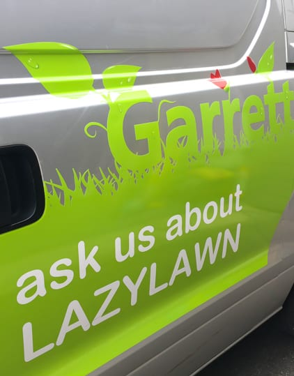 Vinyl Graphics for Garretts Gardens Vehicle