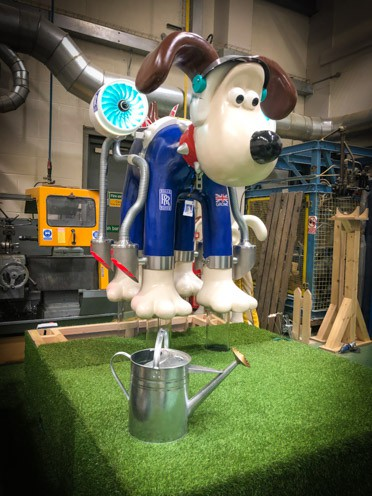 Aardman Animations creation takes flight!