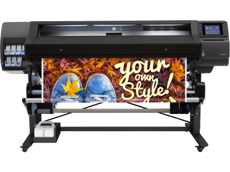 An example of a large format digital printer