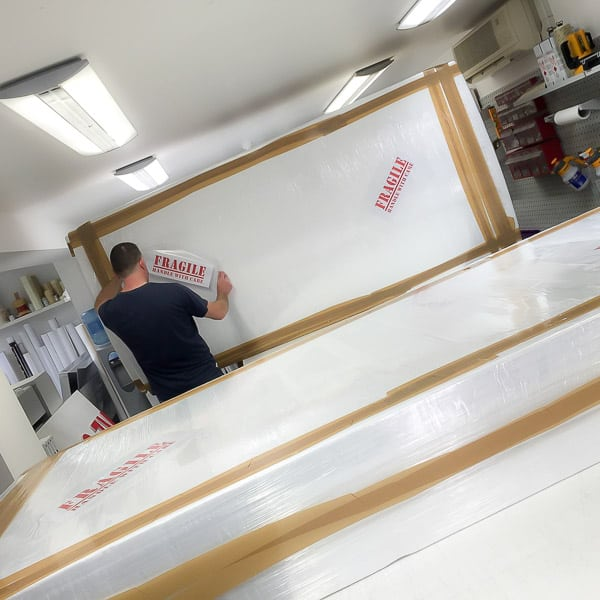 Signage Production for Shop Fronts