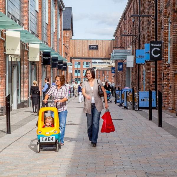 Shopping Centre Sign Branding
