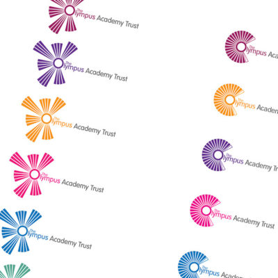 Logo ideas shown in different layouts and colours ready for customer approval