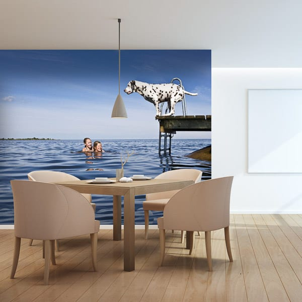 Wall Graphic Dining Room