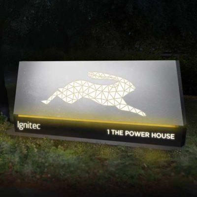 Illuminated Totem Concept for Ignitec