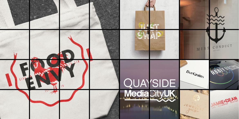Branding and Logos - Hero shot montage
