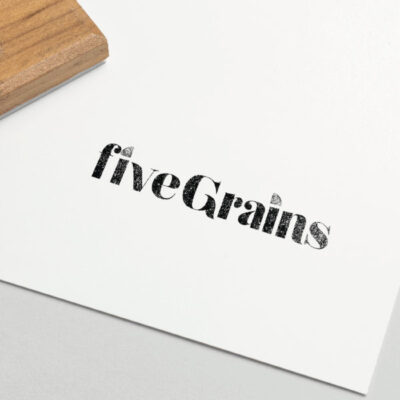 Branding and Logo design for Five Grains