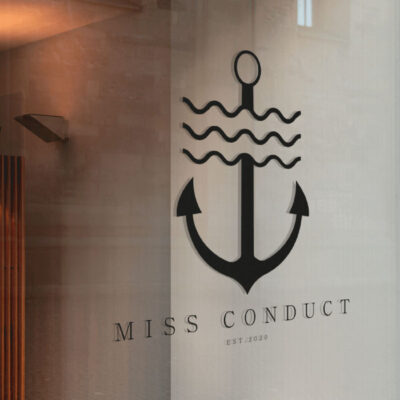 Branding and Logo design for Miss Conduct
