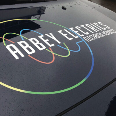 Branding and Logo design for Abbey Electrics