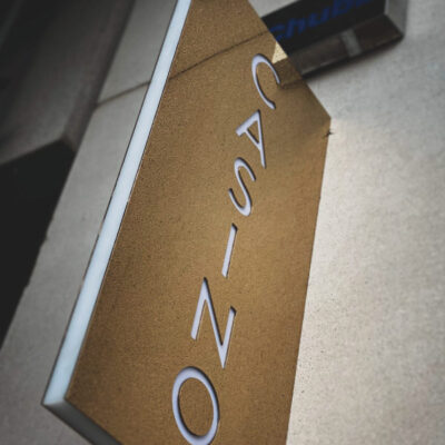 Projecting sign for a Casino