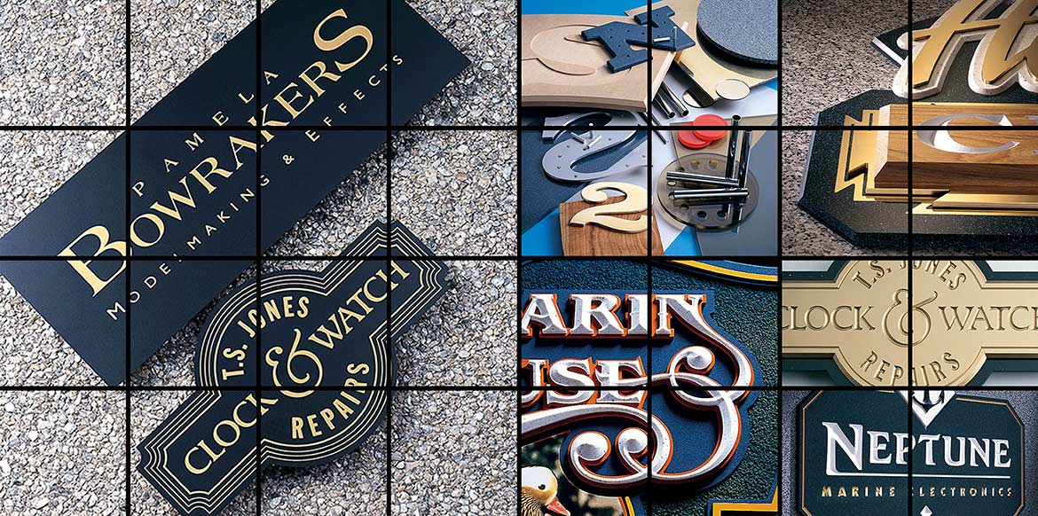 Corian Lettering and Logos Hero Shot Montage
