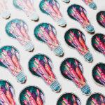 Custom decal cut stickers