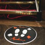 Custom floor graphics by Voodoo in Napoleon's Casino