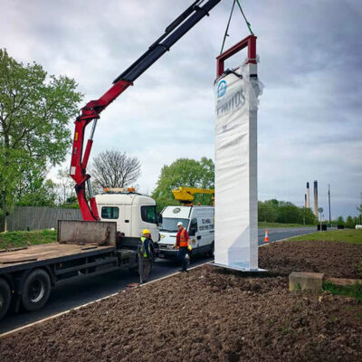 Protos Installation of Monolith