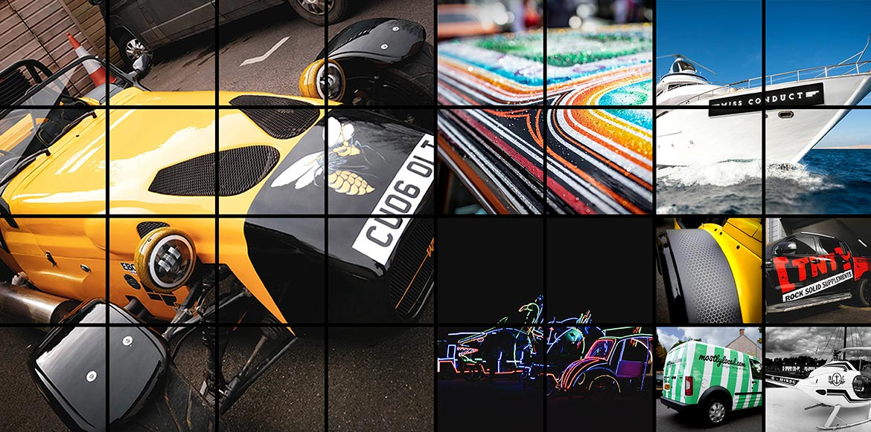 Vehicle Graphics Hero Shot Montage