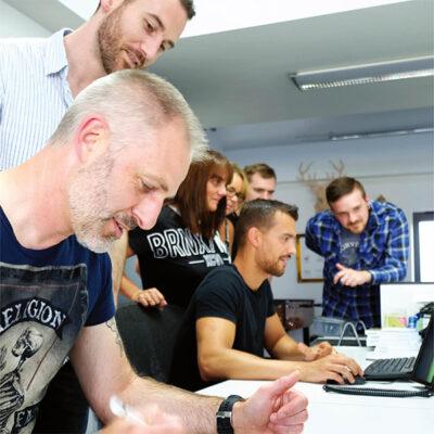 Voodoo Labs Team at work