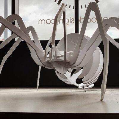 Architectural Signage 3D Sculpture