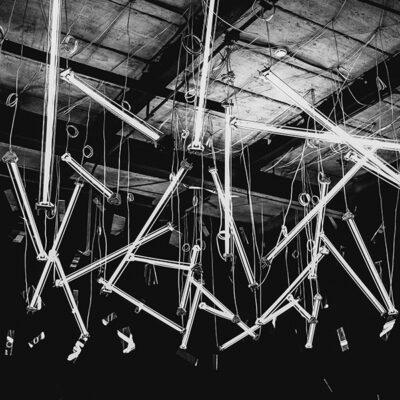 Architectural Signage Light Sculpture