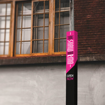 Bollard Wraps for Restaurants