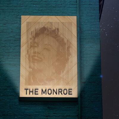 Front Lit Wooden Signage