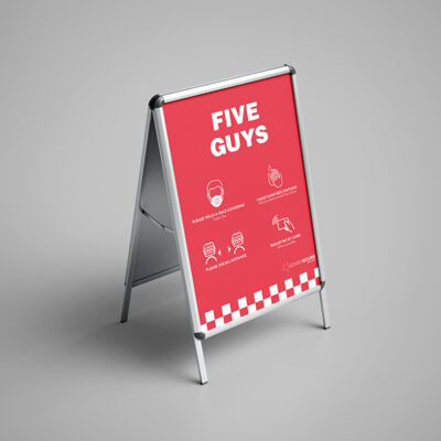 A Boards for Pop Up Businesses