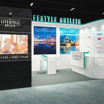 Pop Up Businesses Exhibition Graphics
