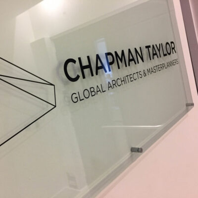 Acrylic and stand off - Corporate Signage